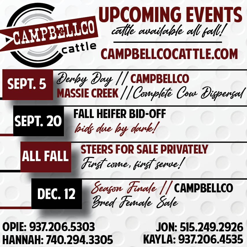 2020 CampbellCo Cattle Sales